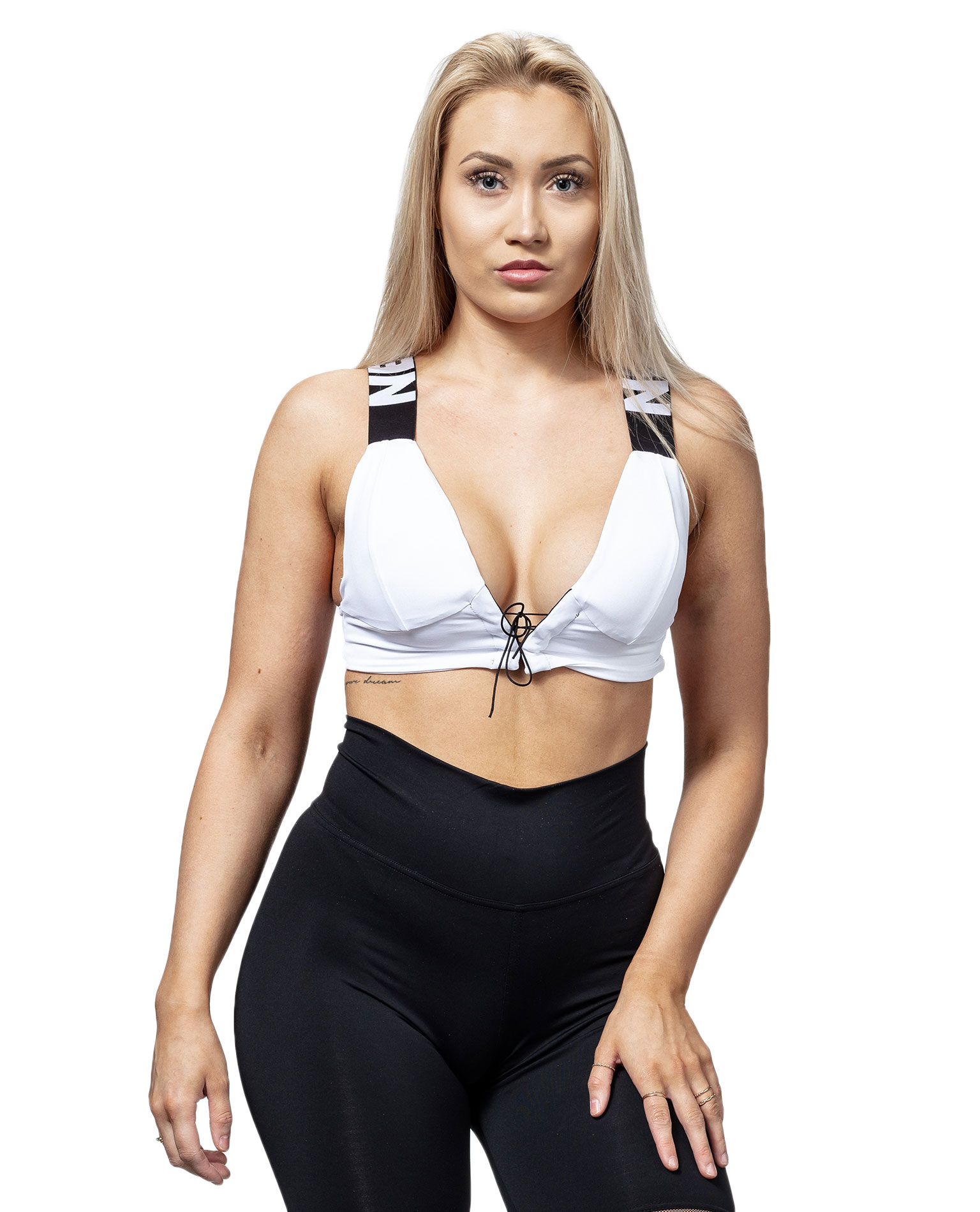 Nebbia Lace Up Sports Bra 694 Bourgogne Sport Soutien-gorge Mini Top Fitness Gym Wear