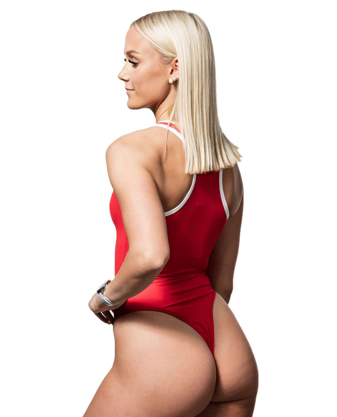 BSX Bodysuit Red Ryderwear